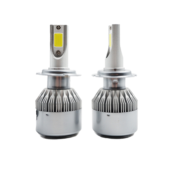 Car Led Headlight H7 H4 72W 7600LM All In One Headlight Bulbs Auto Fog Lighting Replacement Bulbs LED Headlamp 6000K 12V