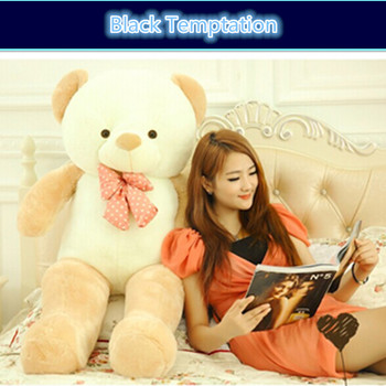 Teddy bear shell New 3color teddy bear 140cm plush toys Tactic bear doll cute baby bear large girls plush toys girlfriend