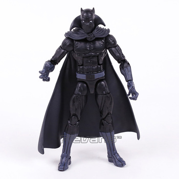 Original Marvel Legends Series Black Pahther PVC Action Figure Collectible Model Toy 16cm